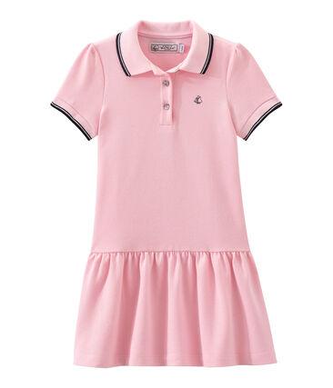 Vestido para niña de manga corta