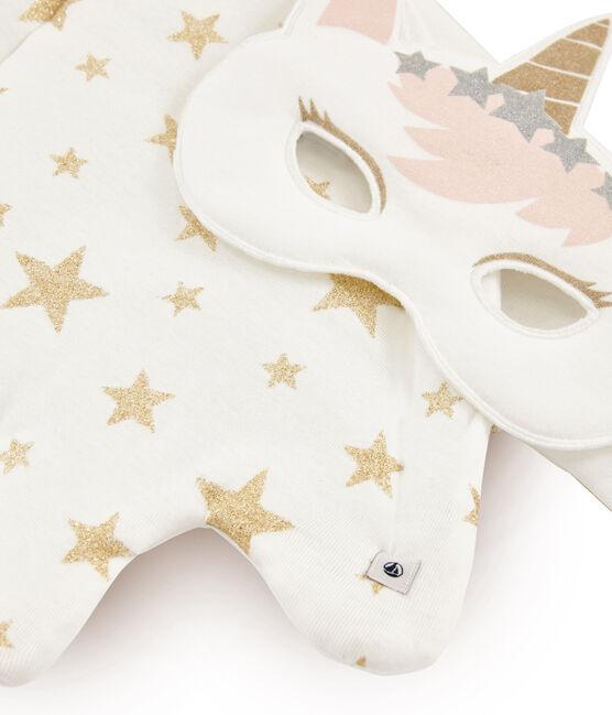 Accesorios para niña blanco Marshmallow / amarillo Or