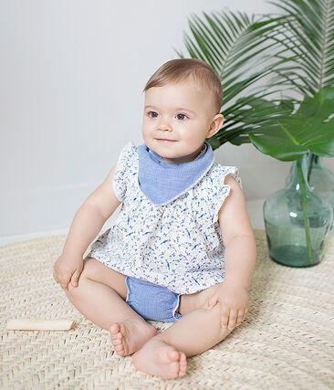 Lote de 2 bandanas-baberos para bebé unisex
