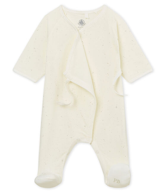 Pelele para bebé unisex blanco Marshmallow / blanco Multico