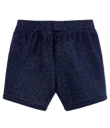 Shorts brillantes para bebé niña