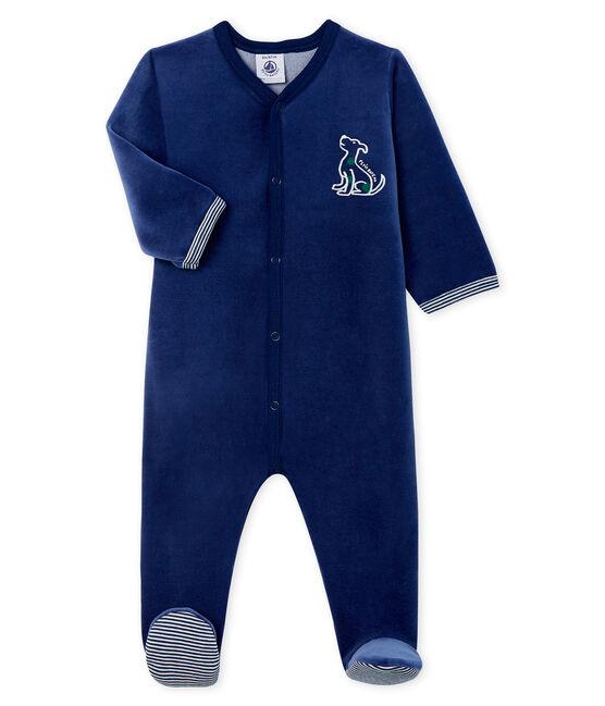 Pijama de terciopelo para bebé niño MEDIEVAL
