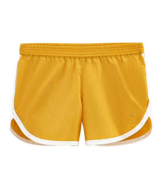 Shorts de niña amarillo Boudor