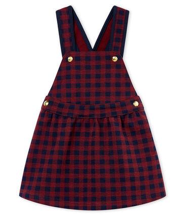 Vestido vichy para bebé niña