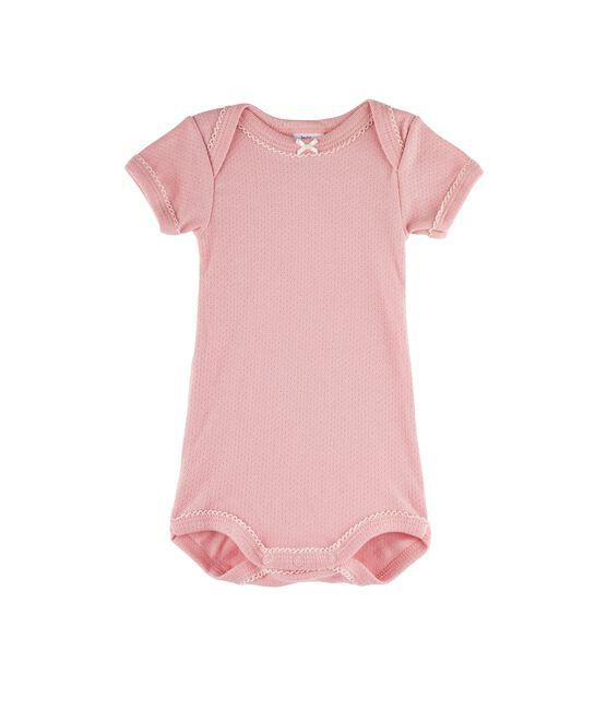 Body de manga corta para bebé niña CHARME