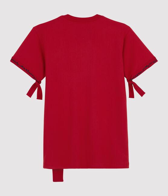Camiseta para mujer/hombre Christoph Rumpf x Petit Bateau rojo Terkuit