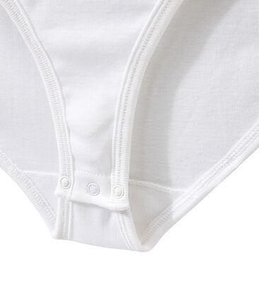 Body icónico de algodón para mujer