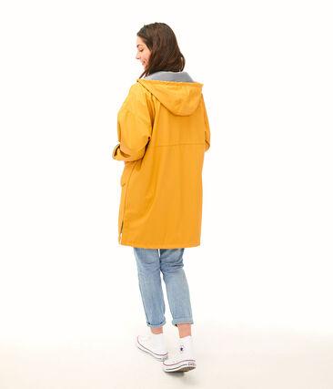 Chubasquero largo unisex amarillo Boudor