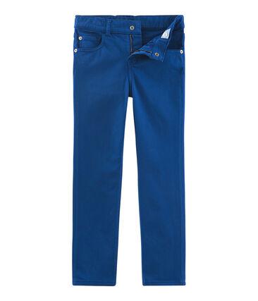 Pantalón de niño y joven azul Limoges