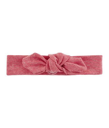 Cinta infantil para niña blanco Marshmallow / rojo Terkuit