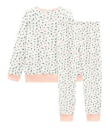 Pijama de rizo picado para niña