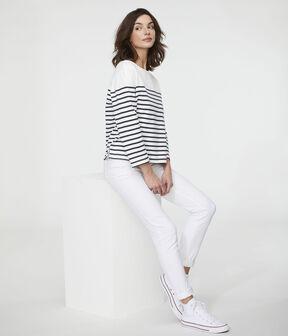Marinera icónica para mujer blanco Marshmallow / azul Smoking
