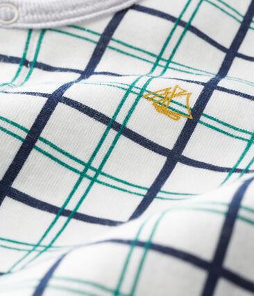 Pijama de túbico para bebé niño blanco Marshmallow / blanco Multico