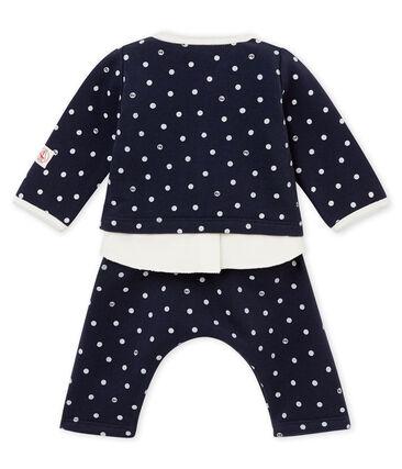 Conjunto de 3 piezas de lunares para bebé niña
