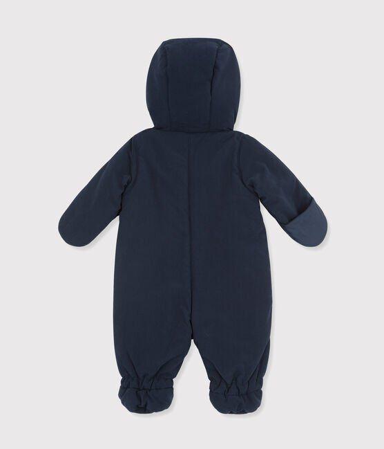 Mono-piloto de microfibra para bebé azul Abysse