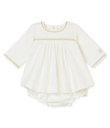 Vestido y bloomer para bebé niña