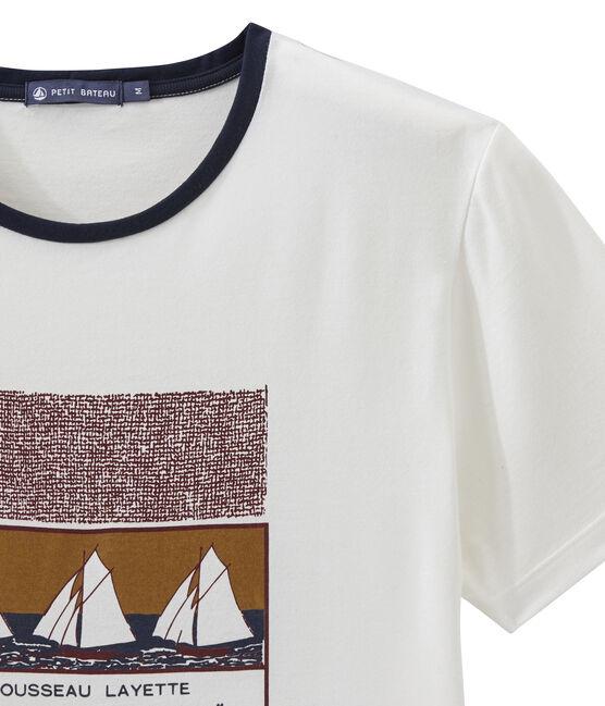 Camiseta MC unisex blanco Marshmallow