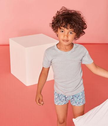 Par de bóxers de algodón stretch para chico
