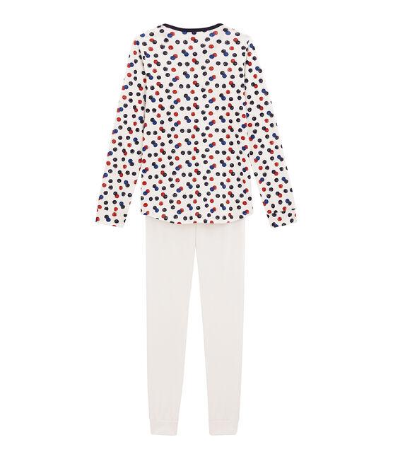 Pijama para niña blanco Marshmallow / blanco Multico