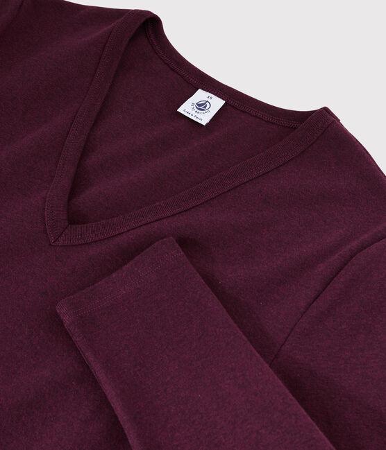 Camiseta icónica con cuello de pico para mujer ALIVE