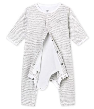 Pelele sin pies para bebé mixto con body integrado