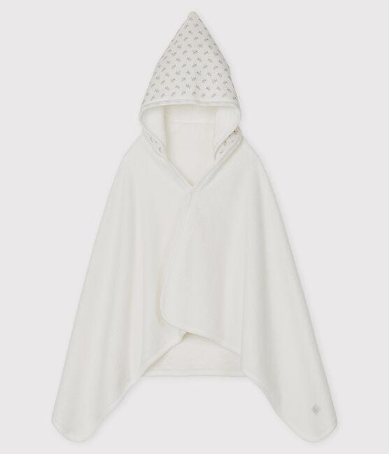 Capa de baño de túbico para bebé blanco Marshmallow / blanco Multico