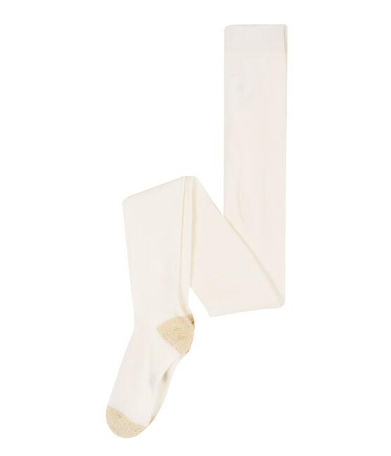 Pantis infantiles para niña blanco Marshmallow