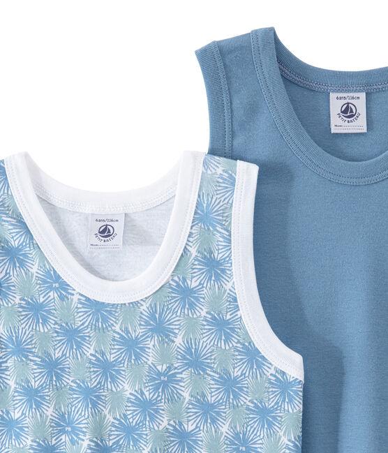 Lote de 2 camisetas sin mangas para niño lote .