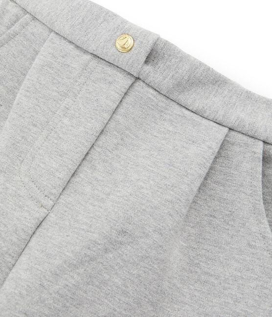 Pantalón de malla para niña gris Subway