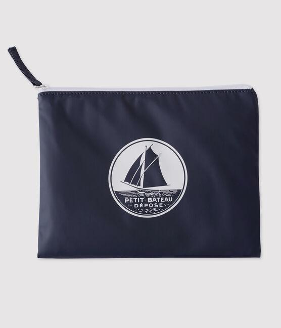 Bolso de mano icónico azul Smoking