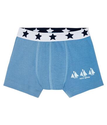 Bóxer para niño azul Alaska