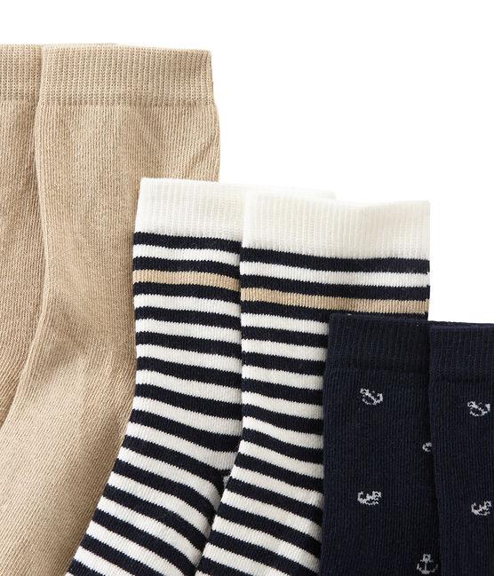 Cofre de 3 pares de calcetines para niño lote .