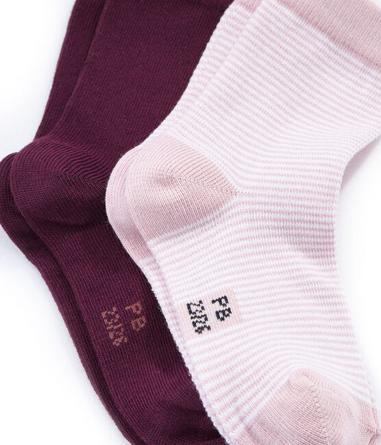 Lote de 2 calcetines de colores lote .