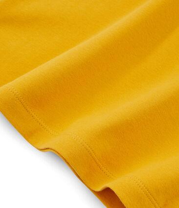 Camiseta de manga corta icónica de mujer amarillo Boudor