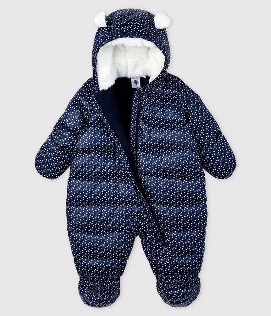 Mono de piloto para bebé niña/niño azul Smoking / blanco Marshmallow