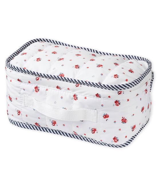 Neceser estampado para bebé mixto blanco Marshmallow / blanco Multico