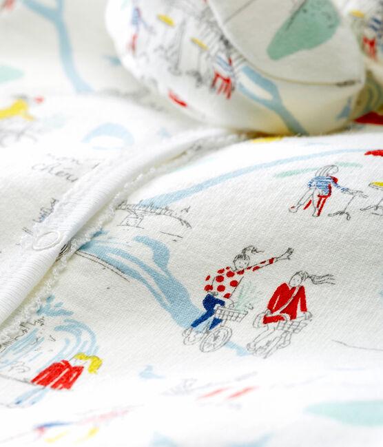 Conjunto de pijama y patucos para bebé niña blanco Marshmallow / blanco Multico