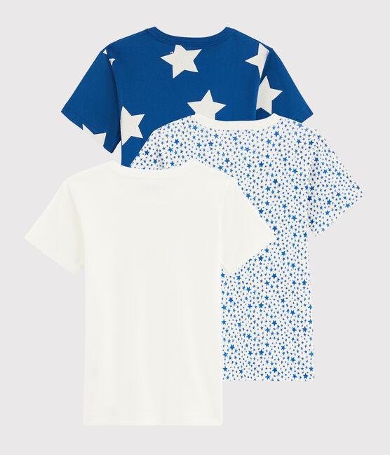 Juego de 3 camisetas de manga corta con estrellas de niño pequeño lote .