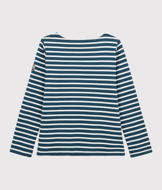 Marinera icónica para mujer azul Shadow / blanco Marshmallow