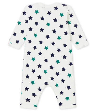 Pelele sin pies y babero para bebé niño