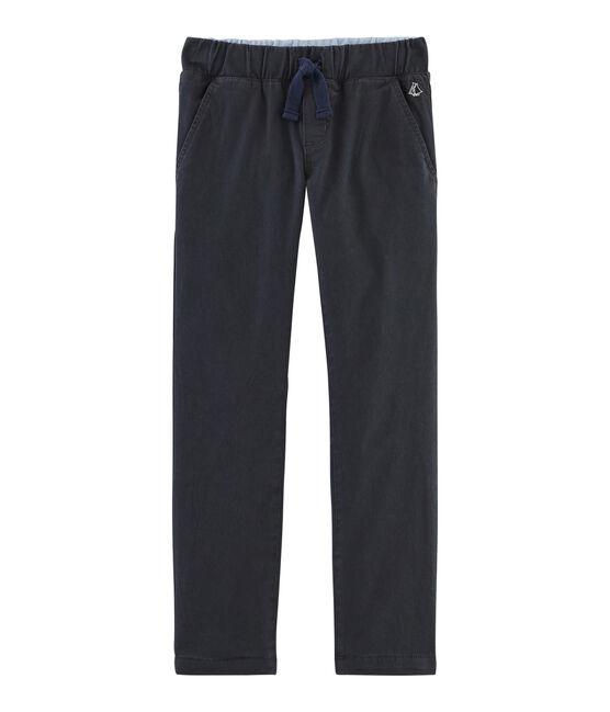 Pantalón con forro cálido para niño gris Capecod