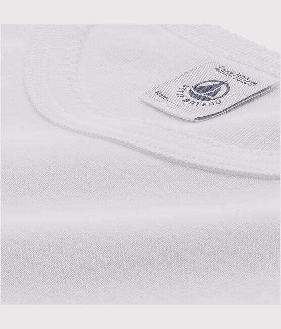Lote de 2 camisetas blancas manga larga niña lote .