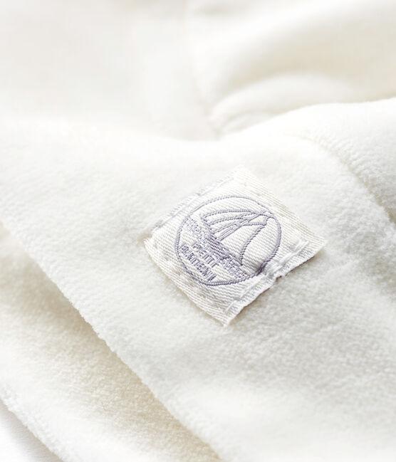 Gorro de recién nacido de punto blanco Marshmallow