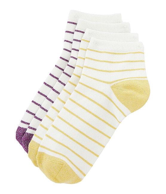 Lote de 2 pares de calcetines mujer. lote .