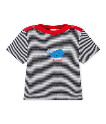 Camiseta bebé niño a rayas