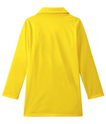 Chubasquero con forma de abrigo para mujer