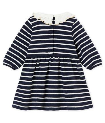 Vestido marinero para bebé niña