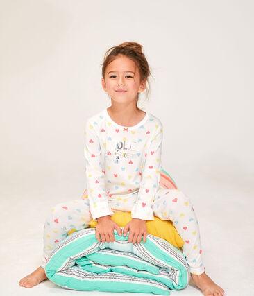 Dúo de pijamas de punto para niña lote .