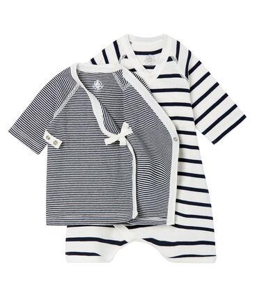 Juego de body kimono y camiseta de punto para bebé