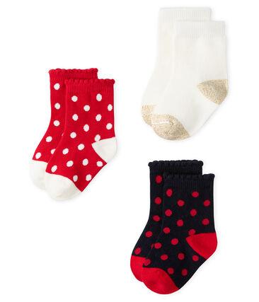 Bufanda para bebé unisex con forro polar gris Subway / blanco Marshmallow
